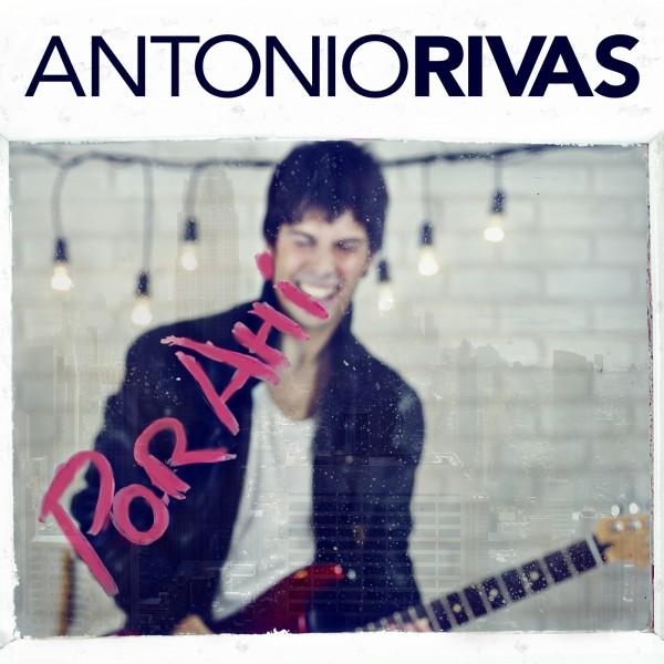 "Antonio Rivas ""Por ahí"" portada cd album"