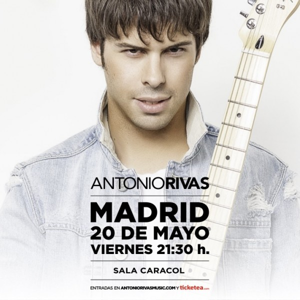 Antonio Rivas Music Sala Caracol Madrid 2016