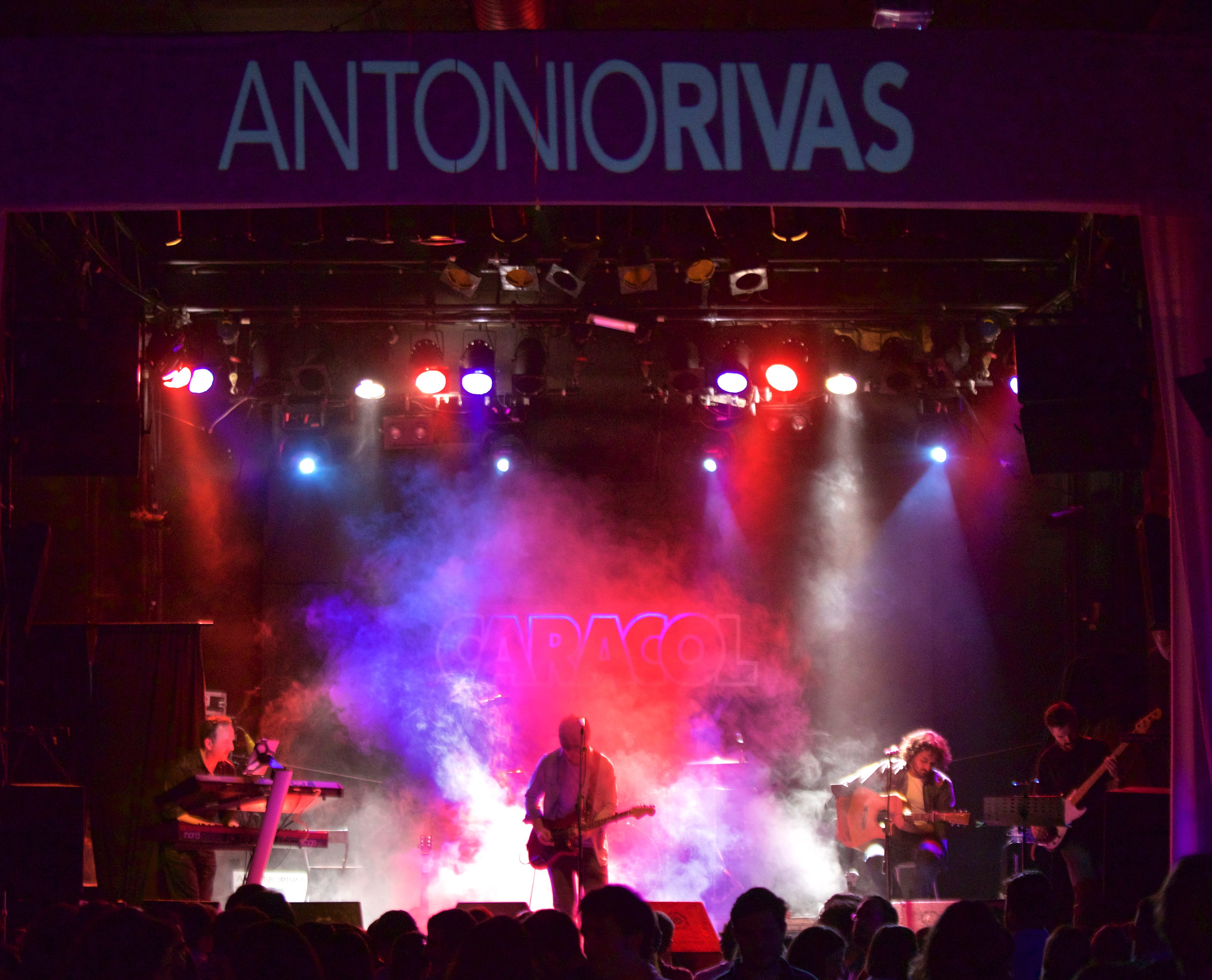 Antonio Rivas Sala Caracol Madrid Por Ahí