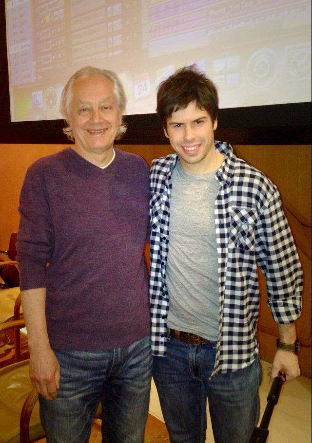 With Tony Platt