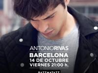 Antonio Rivas - Sala Razzmatazz Barcelona