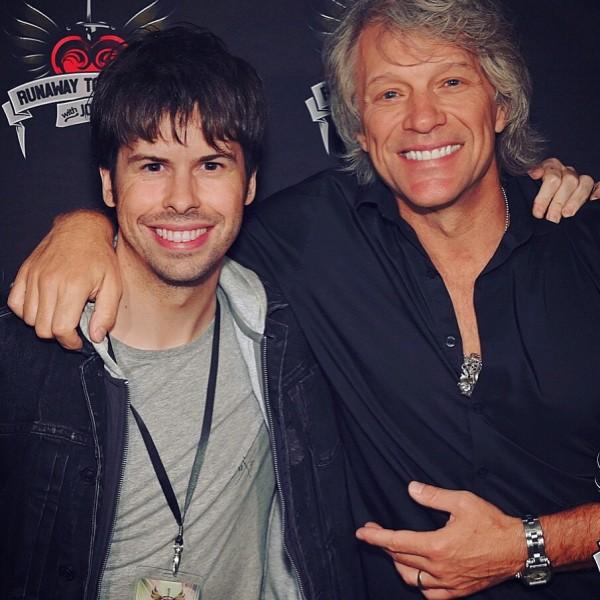 Antonio Rivas & Jon Bon Jovi