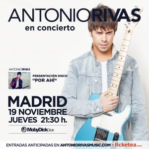 ANTONIO RIVAS MADRID MOBY DICK 19-11-2015