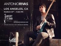 Antonio Rivas Whisky A GoGo Los Angeles California Por Ahi fondo negro