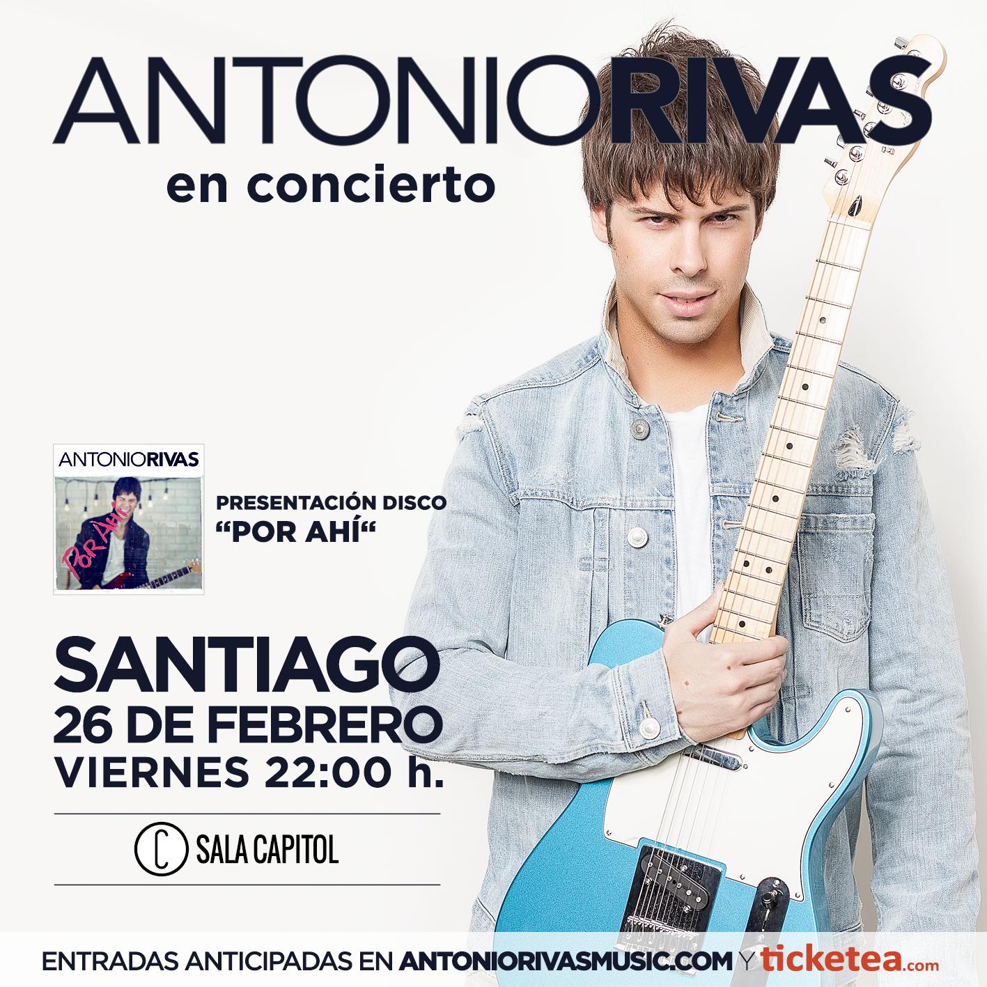 Antonio Rivas Santiago Sala Capitol 2016