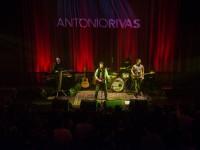 Antonio Rivas Santiago con banda musical