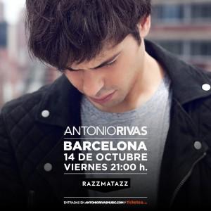 Antonio Rivas en Barcelona - Sala Razzmatazz