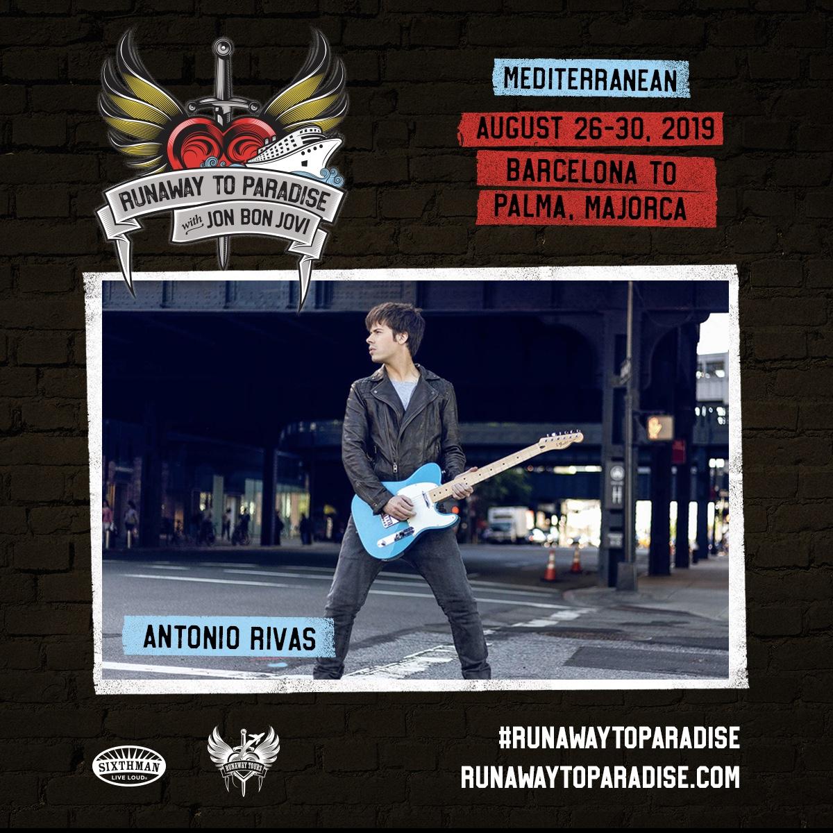 Antonio Rivas - Runaway To Paradise Jon Bon Jovi